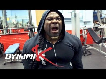 Kai Greene Goes Through a Grueling Calves, Shoulders, and Chest Workout