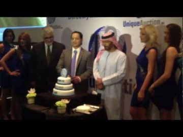 Uniqueauction.ae official launch party and press conference