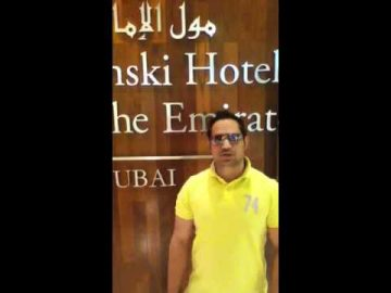 Mall Of Emirates Kempinski Hotel Dubai With Arif Mirza